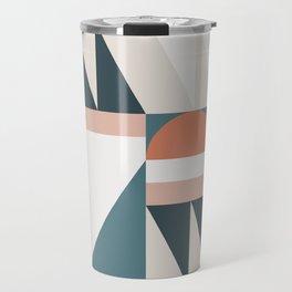 Cirque 06 Abstract Geometric Travel Mug