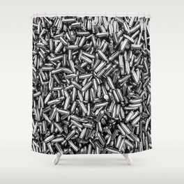 Silver bullets Shower Curtain
