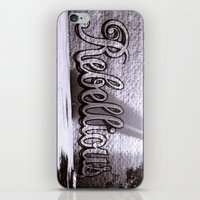rebel iPhone & iPod Skins featuring Rebel by Monica Ortel ❖
