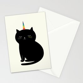 Caticorn Stationery Cards