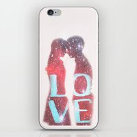 lovers iPhone & iPod Skins featuring Lovers by EclipseLio