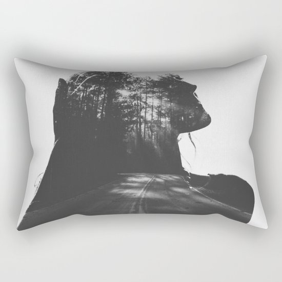 Homesick for places Ive never been Rectangular Pillow