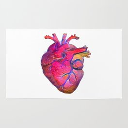 ALTERED Anatomical Heart Rug