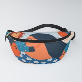 We can do it poster international womens day Fanny Pack