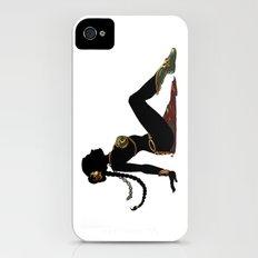 Slave Leia Mudflap iPhone (4, 4s) Slim Case