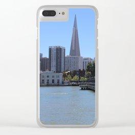 San Francisco Pier Clear iPhone Case
