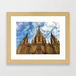 La Seu Cathedral Framed Art Print