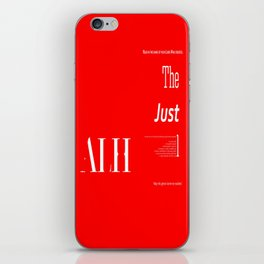 The Impartial III iPhone Skin