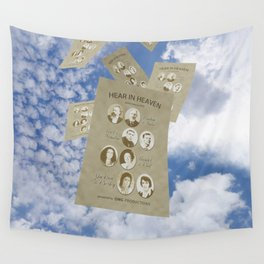 Hear In Heaven Wall Tapestry