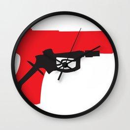 Oil Kills Wall Clock