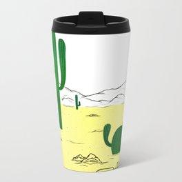 Man & Nature - The Desert Metal Travel Mug