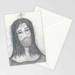 Serene Jesus Stationery Cards