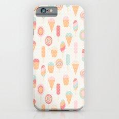 Retro ice cream iPhone 6s Slim Case