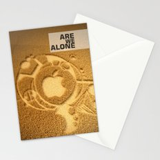 Are we alone ? Stationery Cards
