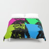 terminator Duvet Covers featuring Terminator by Bolin Cradley Art