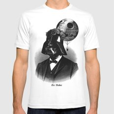 Sir Vader SMALL White Mens Fitted Tee