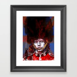 ROYAL'N' ROLL Framed Art Print