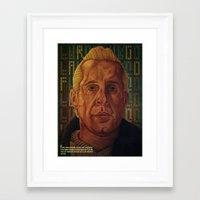 fargo Framed Art Prints featuring Fargo by David Amblard
