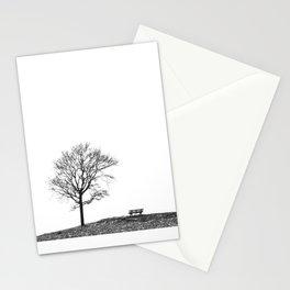 Bench Beneath Tree Stationery Cards
