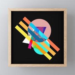 """Collage, """"RITT"""" Framed Mini Art Print"""