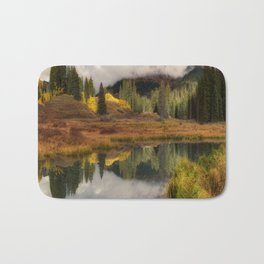 Transition Of The Seasons in Rocky Mountain Bath Mat