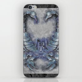 Dueling Scorpions iPhone Skin