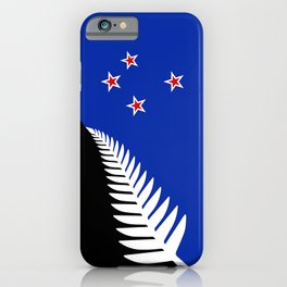 Proposed new Flag design for New Zealand iPhone Case