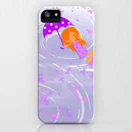 Melomuñequita poppins iPhone Case