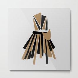Fashion Origami Metal Print