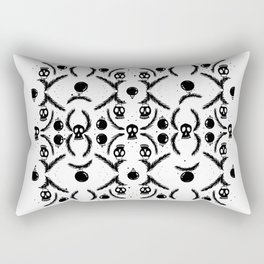 Skull_pattern Rectangular Pillow