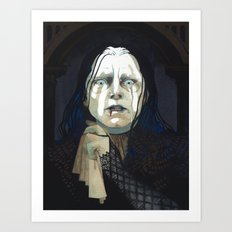 Wormtongue Art Print