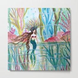 Underwater Garden Metal Print
