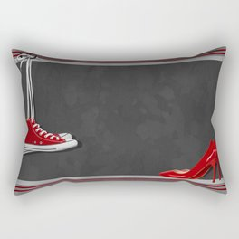 Shoes for every occasion Rectangular Pillow