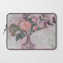 Pops of Hot Pink Florals Laptop Sleeve
