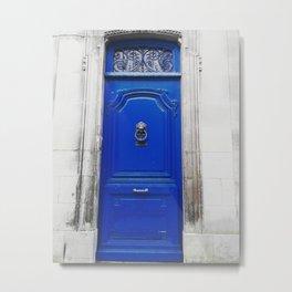 Blue door. Metal Print