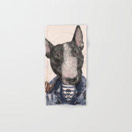 Mr.Bullblack Hand & Bath Towel