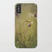 elmo iPhone & iPod Cases featuring Life in the Meadow by Kimberley Britt