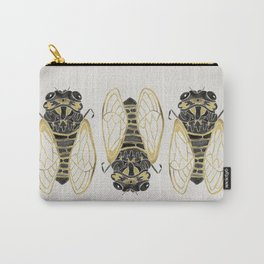 Cicada – Black & Gold Carry-All Pouch