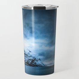 The Arctic - Storm Over Still Water Travel Mug