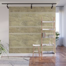 Greek Meander Pattern - Greek Key Ornament Wall Mural