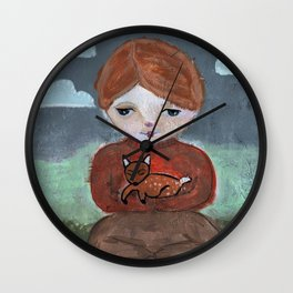 Come Pick Me Up Wall Clock
