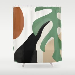 Abstract Art 37 Shower Curtain