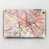 dallas iPad Cases featuring Dallas by MapMapMaps.Watercolors