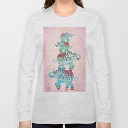 LUCKY ELEPHANTS Long Sleeve T-shirt