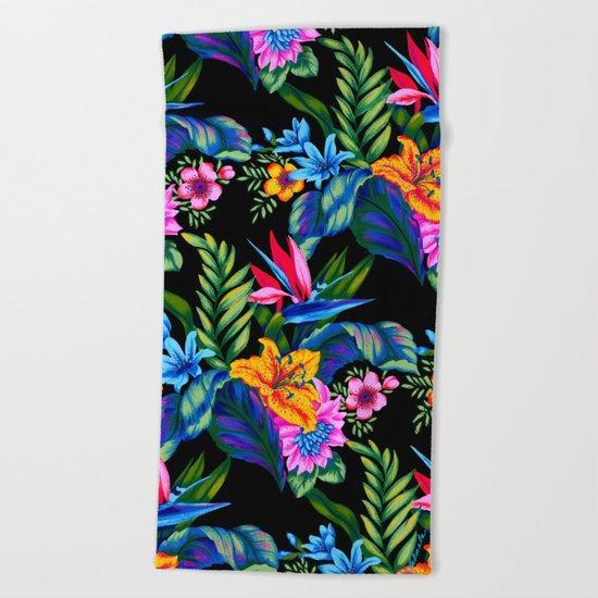 Jungle Vibe Beach Towel