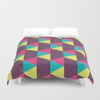 90s Duvet Covers featuring Was it the 90s II by Penguin Crush