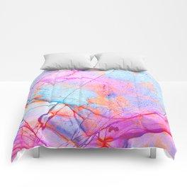 Graffiti Candy Marble Pattern Comforters