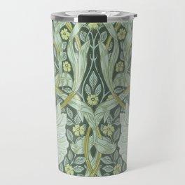 William Morris, Art nouveau pattern, beautiful art work, fabric pattern, belle époque,victorian,flor Travel Mug