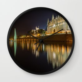 Palma Cathedral - Palma de Mallorca Spain Wall Clock