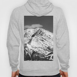 Mt. Blanc with cloud (Mono) Hoody